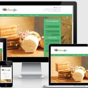 spa webdsite design