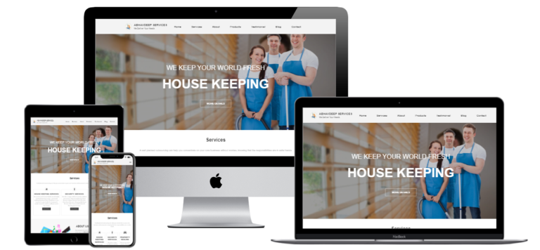 services web design and development
