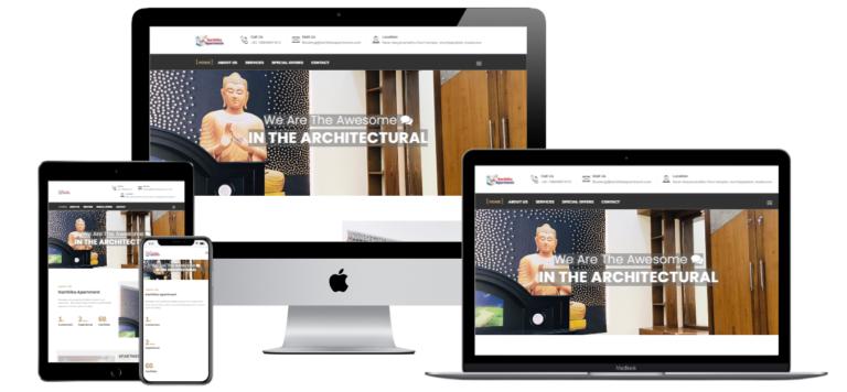 Hotel apartment web design