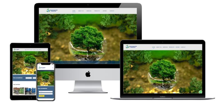 waterconsultaancy web design